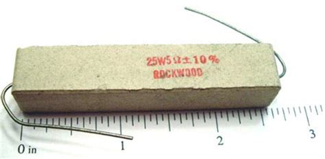 600 ohm non inductive resistor wirewound resistors 25w west florida components