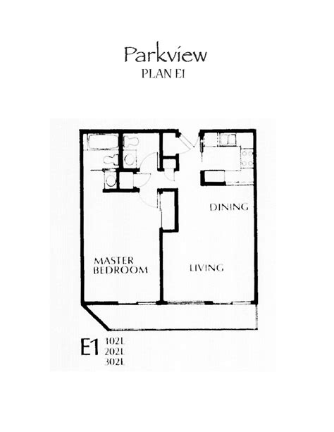 parkview floor plan parkview floor plan e1
