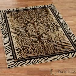 Festival jungle animal print area rugs