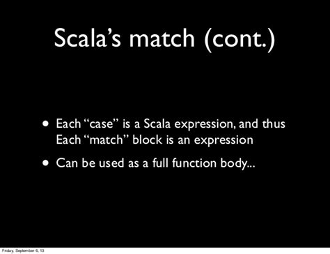 scala pattern matching on functions intro to pattern matching in scala