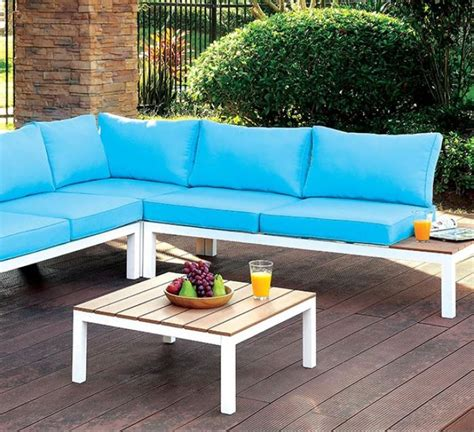Patio Furniture Stores Las Vegas Winona Patio Sectional W Ottoman Las Vegas Furniture