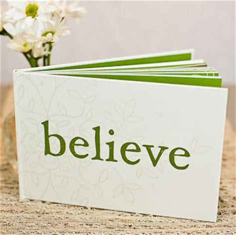 inspirational gifts from the books believe book gift green idea inspirational image