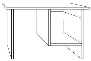 cara membuat meja belajar di coreldraw keripik citul
