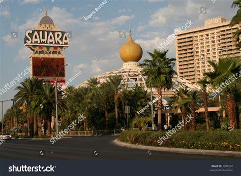 The Sahara Hotel In Las Vegas Nv Stock Photo 1908272