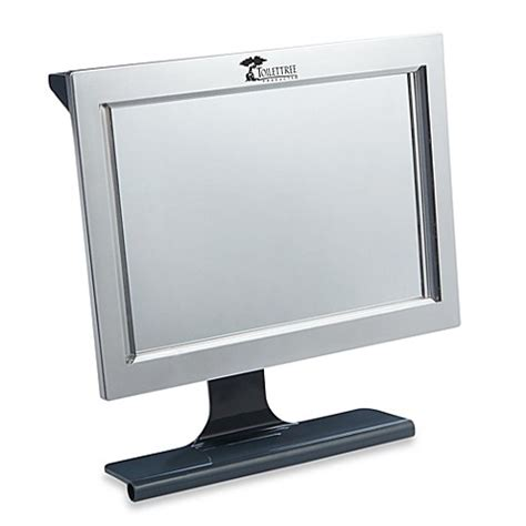 bed bath and beyond light up mirror led fogless lighted shower mirror bed bath beyond