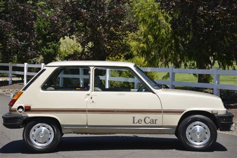 cars le no reserve 1980 renault le car bring a trailer