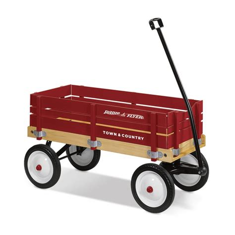 town and country wagon shop wooden wagons radio flyer