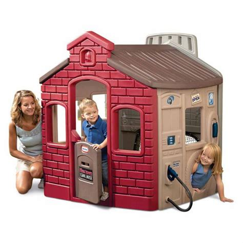 little tikes clubhouse swing set instructions endless adventures tikes town outdoor playhouse kids