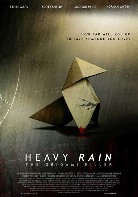 Who Is The Origami Killer In Heavy - heavy the origami killer posters from