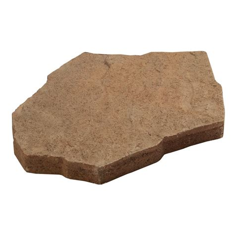 patio stepping stones lowes shop brickface patio common 16 in x 16 in patio blocks lowes patio