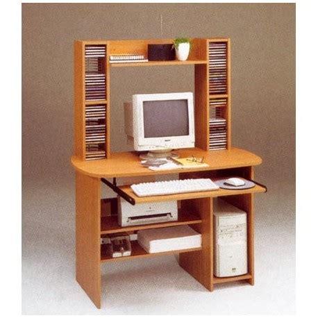 scrivanie porta pc in legno scrivania porta pc con torre cd in legno ilbottegone biz