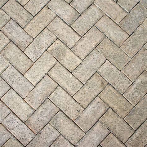 light brown zigzag brick block floor texture for