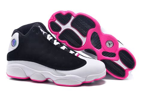 girls air jordan 13 retro gs hyper pink black hyper pink