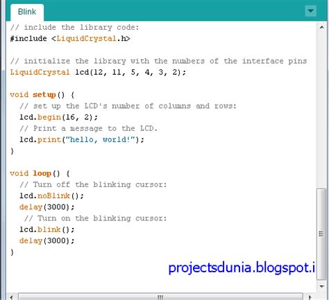 arduino code with lcd how to interface lcd with arduino uno projectsdunia