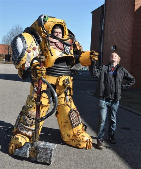best warhammer 40k costume ever technabob
