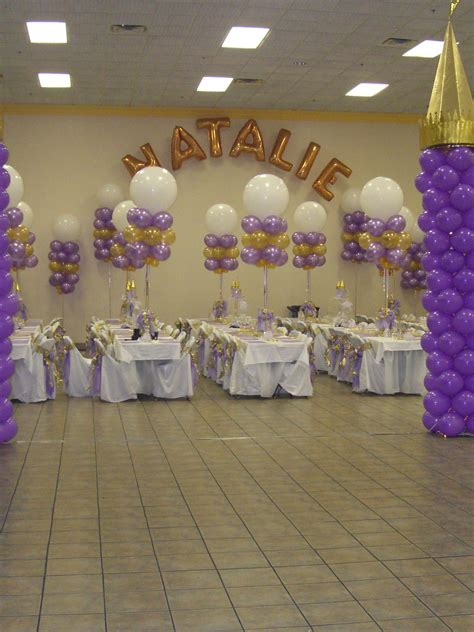 Quinceaneras Centerpieces Balloon Centerpiece With Pin Quinceanera Balloons And Decorations Mall Pic 13