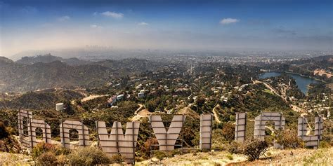los angeles landscape photographing the sign a los angeles landmark