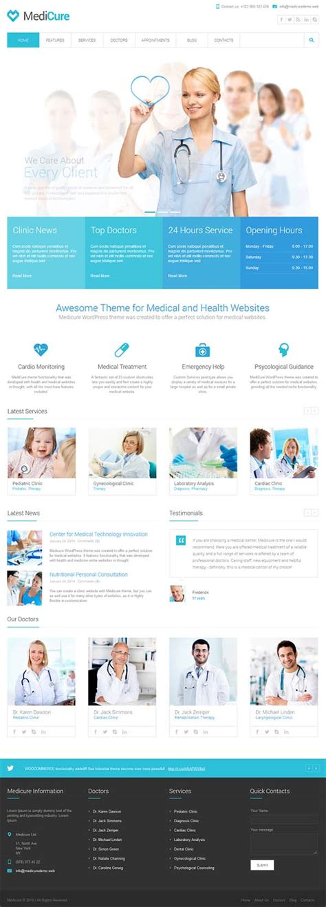 Website Template For Health Exle Of Health Website Template Sle Templates Healthcare Website Templates