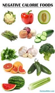 negative calorie foods fact or fiction miller s