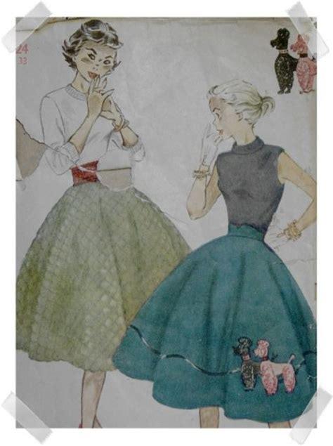 pattern for felt poodle skirt authentic vintage poodle skirt pattern