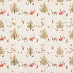 How To Match Rugs And Curtains Christmas Woodland Curtain Fabric In Natural Terrys