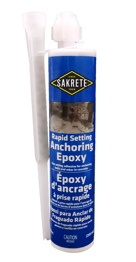 sakrete rapid setting epoxy gt king home improvement products