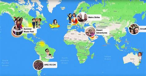 map snap usa snapchat s new snap map feature lets you stalk your