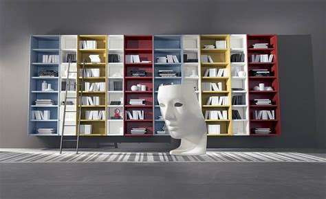 libreria design libreria design librerie sospese by fimar