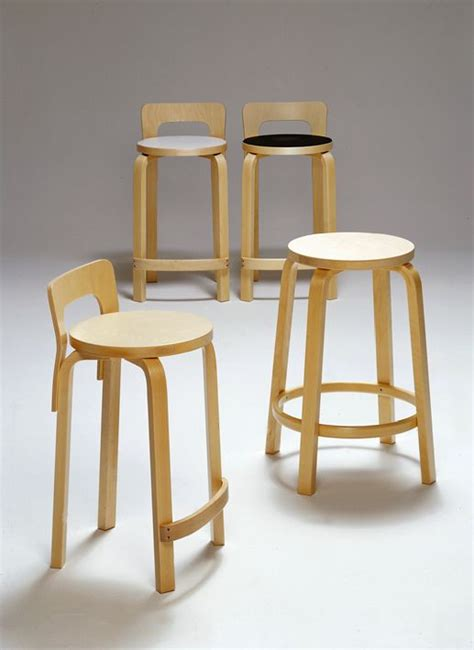 Artek High Stool 64 by Artek Stool 64 Anibou Geca Product Furniture