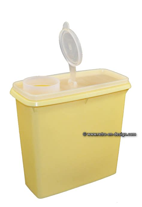 Tupperware New Shelf Saver vintage tupperware storage or stock container space saver