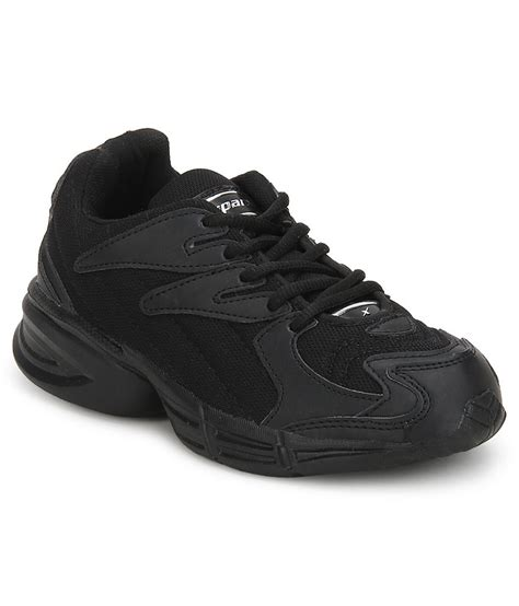 sparx black sports shoes for price in india buy