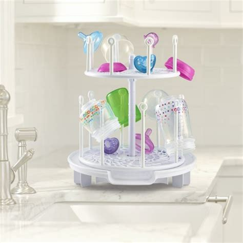 Bottle Rack Baby by The Years Baby Spinning Drying Rack Bottle Storage Holder Infant Toddler