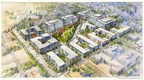 denver real estate company plans big mixed use development urban cool redmond mega project near microsoft to get