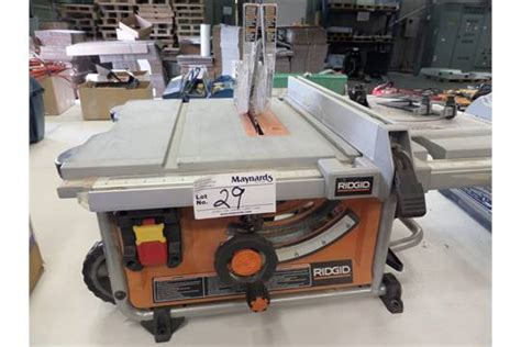 Ridgid Portable Table Saw by Ridgid R4516 10 Quot Portable Table Saw
