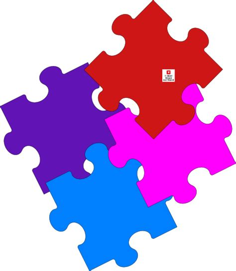 Puzzle L by Jigsaw Puzzle Alternate Clip At Clker Vector