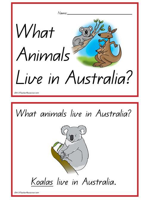 picture books about australia australian animals concept book