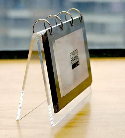 acrylic desk calendar holder desk calendar display acrylic calendar refill desktop