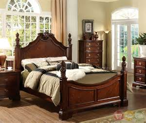 carlsbad i formal cherry bedroom set with ornamental