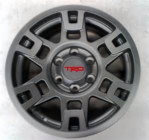 Aftermarket Toyota Rims Toyota Tacoma 4x4 Prerunner Sema Trd Pro 17 Quot Matte Gray