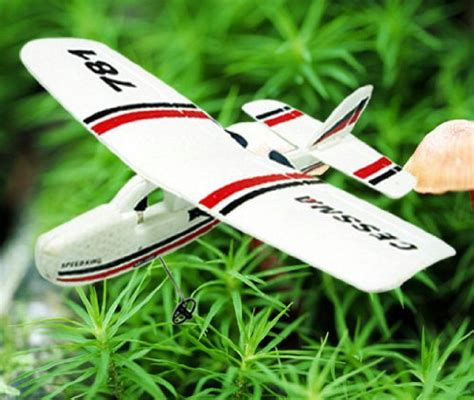 Cessna Tw 781 Micro Mini Infrared Easy Indoor Rc Epo Gilder remote airplanes cessna 781 infrared rc airplane micro 2ch flight remote cub