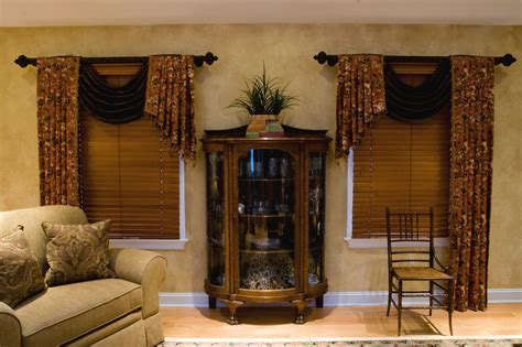 living room window treatments all about design photo gallery