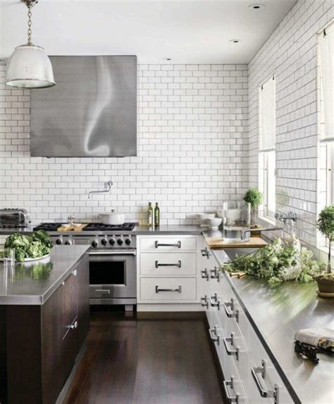 subway tiles in kitchen white subway tile backsplash ideas vida design
