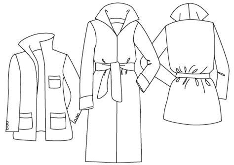 jacket pattern making pdf roll collar coat pdf sewing pattern by angela kane