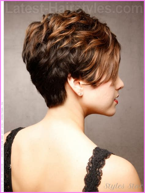hair style short and stacked on top and long agled sides longer back short haircuts black women front and back http