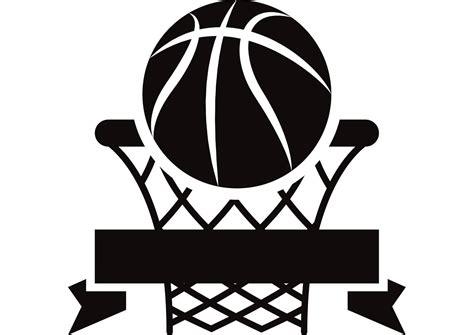 Hoops Mainan Keranjang Bola Basket basketball logo 1 hoop net sports icon svg eps