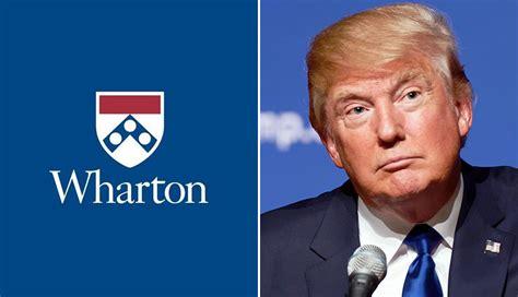 Mba Wharton Graduate School Donald by Wharton Study Since More Aggressive In