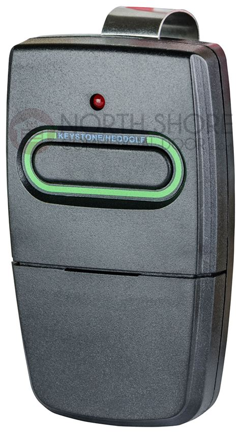 Keystone Heddolf P220 1kb Gate And Garage Door Opener Remote Keystone Overhead Door