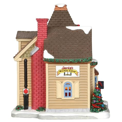 lemax santas storytime cottage 25418 163 42 29 from