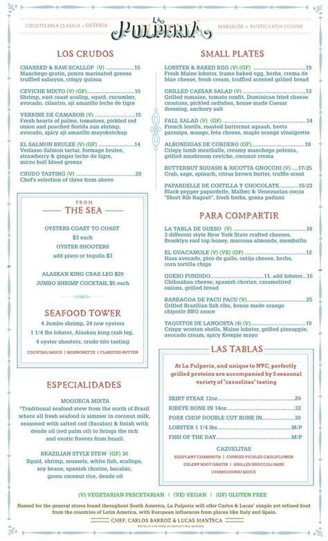 rustic kitchen menu best images about la pulperia nyc inspirations with rustic