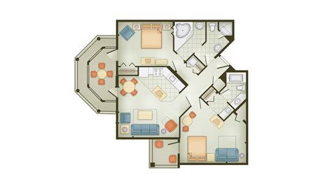 Disney Club Floor Plan - disney vacation club vero floor plans